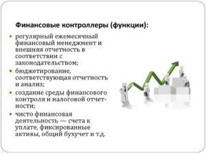 Финансовый контролер обязанности