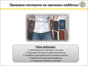 Сотрудник мфц проверяет подлиность паспорта