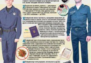 Работать в полицию после 18 лет какие документы
