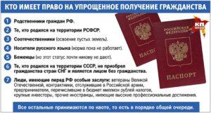Какие нужны документы для получения российского гражданства если мама гражданка россии