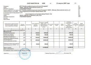 В течение скольки дней выставляется счет фактура по акту оказанных услуг