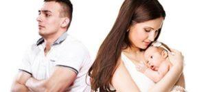 Развод супругов имеющих грудного ребенка