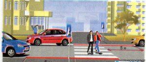 Правила парковки рядом с пешеходным переходом