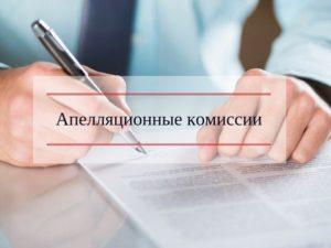Представление уточненных заявлений апелляционная комиссия росреестра