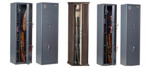 Какой нужен сейф под хронения ружья