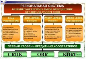 Кредитный кооператив первого уровня