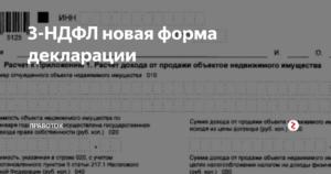 Скачать бланк декларации доходов физических лиц 2019