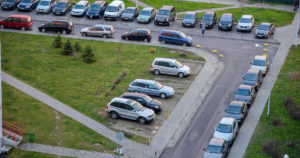 Правило стоянки автомобилей во дворах