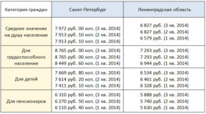 Прожиточный минимум для инвалидов в санкт петербурге 2019