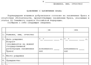 Документы для регистрации брака с гражданином таджикистана в россии