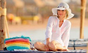 Гардероб на море женщине за 55
