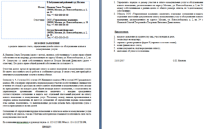 Образец заявления в суд о разделении кодов плательщика