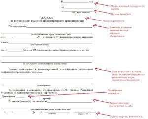 Обжалование постановления об административном правонарушении с видеофиксации образец гибдд