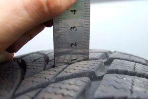 Износ зимней резины не более 2мм