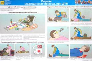 Лекция оказание первой медицинской помощи при дтп