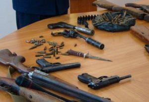 Срок за хранение и изготовление оружия