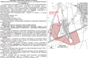 Выдел земельного участка из общей долевой собственности 2019