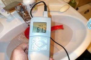 Подлежат проверке приборы для замера температуры водыы или нет