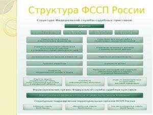Кому подчиняется главный судебный пристав россии