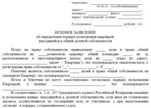 Исковое заявление в порядке приватизации по долям один из доливиков умер