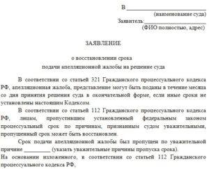 Подача заявления в суд по почте