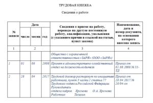 Увольнение по п 5 ч 1 ст 77 тк рф